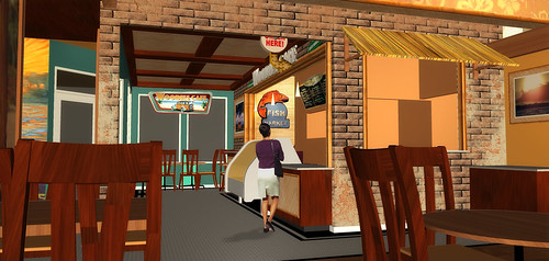 3D Restaurant Design Themed Restaurant Rendering Conceptual Cafe
