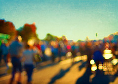 How is this for bokeh? (Irene2005) Tags: blur 35mm bokeh raleigh outoffocus lateafternoon longshadows ncstatefair f20 primelens hbw nikond90 texturebyjessicadrossin