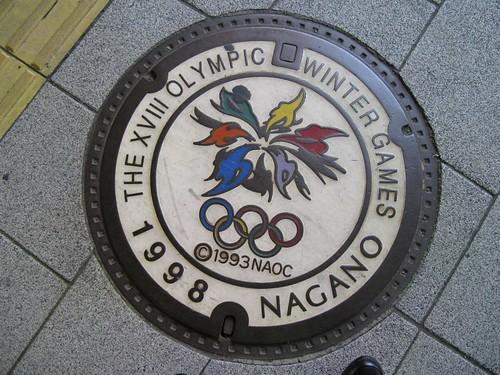 Manhole cover, Nagano