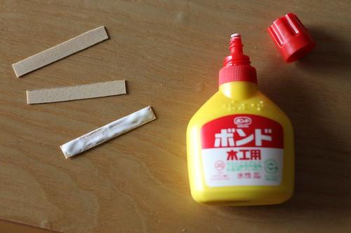 Wood working glue