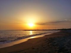 Tramonto al Pontile. (socrates197577) Tags: sardegna beach mare samsung ponte paesaggi hdr paesaggio oristano