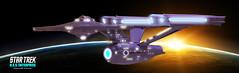 Enterprise01 (shemanthkumar) Tags: trek toy lights star model nikon ship indoor warp glowing enterprise ncc orbit kirk starship kumar hemanth 1701 nacell eaglemoss d3100