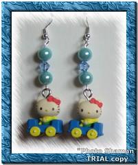 Orecchini Hello Kitty car (Incantesimi) Tags: handmade hellokitty orecchini