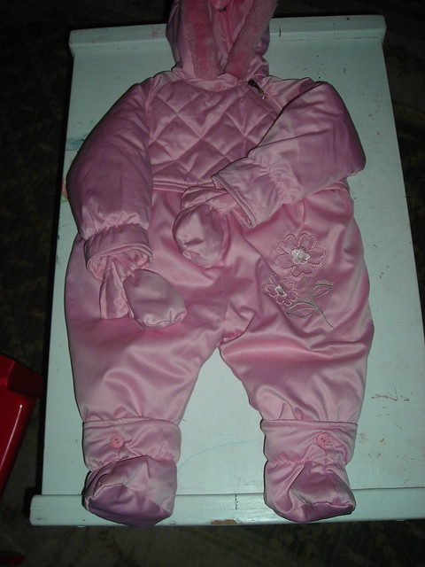 Snowsuit - Pink Osh Kosh - Full View | Flickr - Photo Sharing!