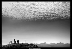 On the Edge (2) (Arnold Pouteau's) Tags: bw silhouette noiretblanc summit upstatenewyork adirondack whitefacemountain bwdreams