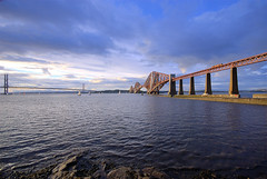 Forth Bridges (brianwilliams) Tags: bridge water scotland forth queensferry forthbridges