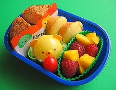 Salmon cake bento lunch for preschooler v2