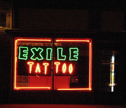 exile tattoo. Nick Carter`s reflected in Exile Tattoo | Flickr - Photo Sharing!