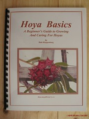 Hoya book - Hoya Basics, A Beginner's Guide to Growing and Caring for Hoyas (epiforums) Tags: book apocynaceae hoya asclepiadaceae asclepiad asclepiadoideae
