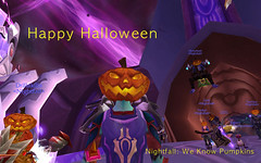 nfhalloween (csmole) Tags: halloween wow pumpkins worldofwarcraft warcraft theeye nightfall tempestkeep bleedar
