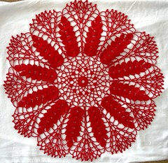 Ripe Wheat Doily 03