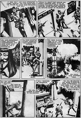 V for Vendetta Comic Strip