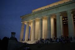 Lincoln Memorial at Dusk (S Migol) Tags: night geotagged washingtondc pentax dusk lincolnmemorial bluehour smigol pentaxk10d smcpda1855mmf3556al stephenmigol