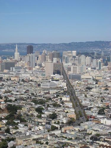 San Francisco dai Twin Peaks