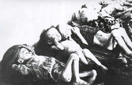 slaughtered children at Jasenovac in Croatia