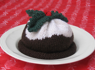 Knitting Pattern Christmas Pudding Hat Baby : Ravelry: Christmas Pudding Hat and Mittens pattern by Debbie Bliss