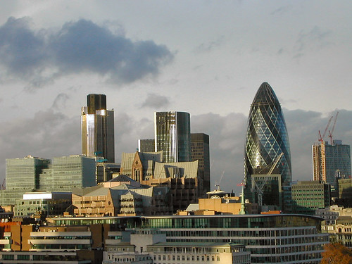 London skyline by sonewfangled, on Flickr