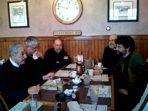 The Samurai has a Liberty Lunch with Ron Paul.