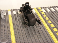 Batbike (corran101) Tags: bike lego bat batman moc