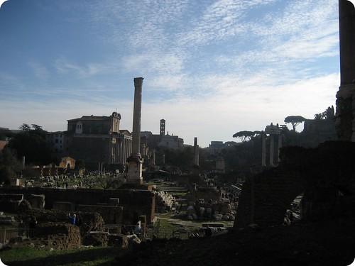 Foto de Columnas en el foro romano