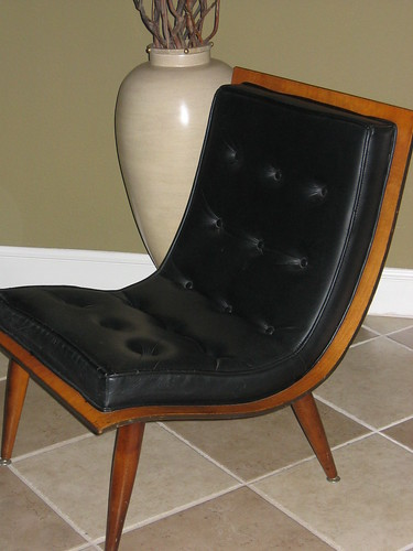 black carter bros chair