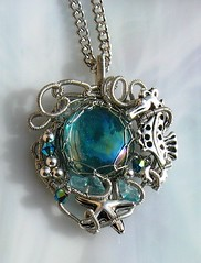 Tide Pool Seahorse Necklace