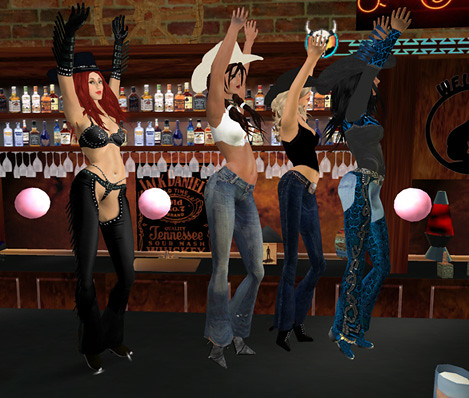 Even more bar dancing!