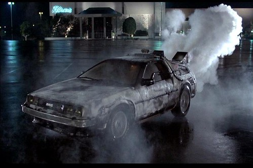 back to the future delorean storytelling blog
