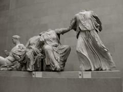 Parthenon Sculptures (British Museum) (Paranoid Ethnoid) Tags: britishmuseum ancientgreece greeksculpture parthenonlondontravel
