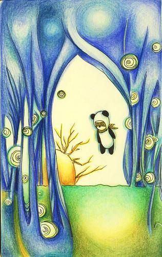 Panda Attack again~