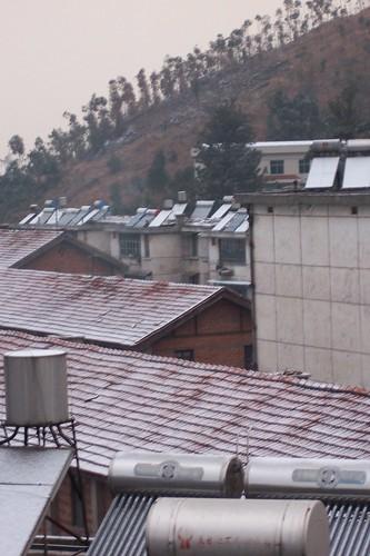 Snow Scene from the Window