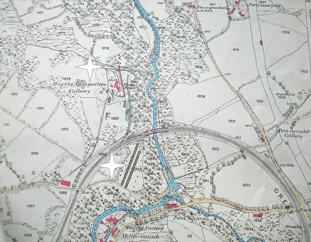 Harris' Navigation Colliery - 1875