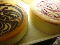 Marbled Cheesecakes from Junior's