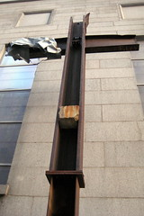 NYC - Ground Zero Cross by wallyg, on Flickr