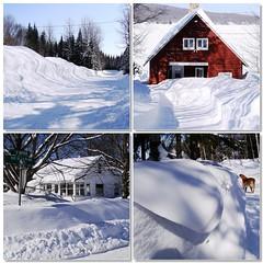 D'hiver et de village