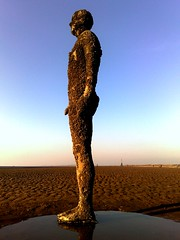 Another Place by Antony Gormley (Grateful Ghoul) Tags: man art beach liverpool iron cast installation figure antony gormley crosby antonygormley anotherplace crosbybeach gormleystatues