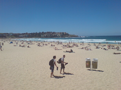 Bondi Beach (left)