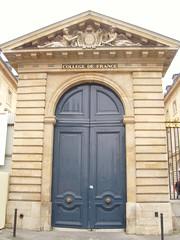 PARIS : le Collège de France
