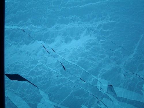 Sea ice on Arctic Ocean