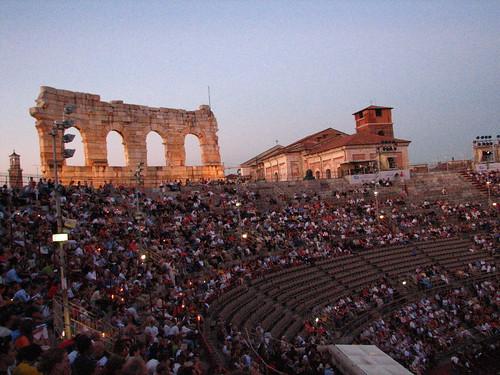 Arena di Verona, Verona Opera House (La Boheme)