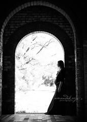 Mother ({amanda}) Tags: life woman 50mm moody arch goddess naturallight maternity archway bnw amandakeeysphotography