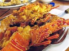 chili lobster (southeast star) Tags: seafoodrestaurant mallofasia sanmiguelbythebay