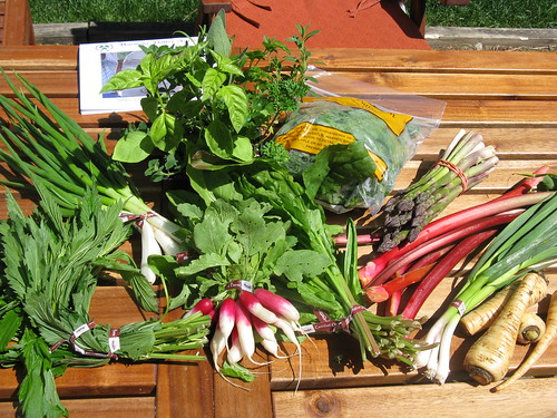 This week's box from the farm #2