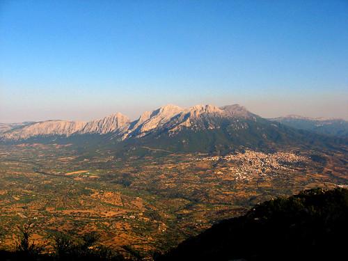 Panorama dal Monte Ortobene