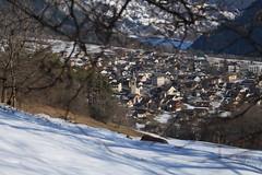 Vollèges (bulbocode909) Tags: valais suisse vollèges valdentremont villages maisons arbres nature montagnes hiver neige