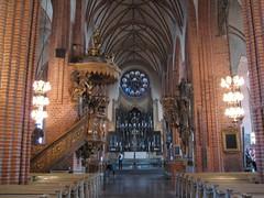 L'intérieur de la cathédrale Storkyrkan