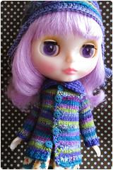 Purple teal green
