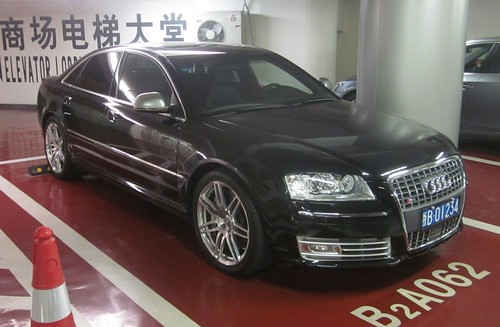Audi S8 V10. SPOTTED - AUDI S8 V10 AT PLAZA