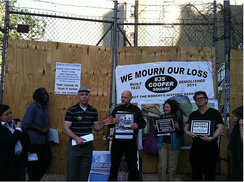 35 Cooper Square Vigil