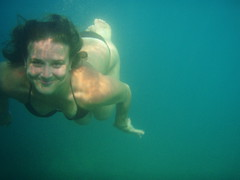 Smile (silversmile08) Tags: sea summer portrait underwater croatia adriatic